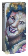 Country Artist Patsy Cline Portable Battery Charger