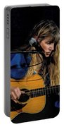 Country Blues Singer Rory Block In Concert Portable Battery Charger