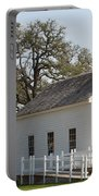 Round Top Texas Country Church Portable Battery Charger