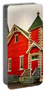 Country Church Paint Portable Battery Charger