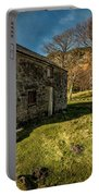 Country Cottage Portable Battery Charger by Adrian Evans