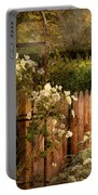 Country - Country Autumn Garden  Portable Battery Charger by Mike Savad