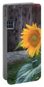 Country Flower Portable Battery Charger