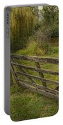Country - Gate - Rural Simplicity  Portable Battery Charger