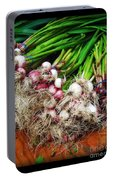 Country Kitchen - Onions Portable Battery Charger