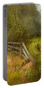 Country - Landscape - Lazy Meadows Portable Battery Charger by Mike Savad