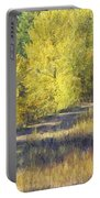 Country Lane Digital Oil Painting Portable Battery Charger