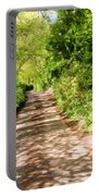 Country Lane Painting Portable Battery Charger