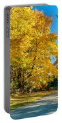 Country Lane Portable Battery Charger by Steve Harrington