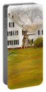 Country Moments-farmhouse In Woodstock Vermont Portable Battery Charger
