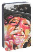 Country Music Artist...willie Nelson Portable Battery Charger