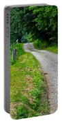 Country Road Portable Battery Charger by Frozen in Time Fine Art Photography
