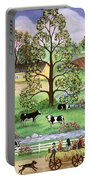 Country Scene Portable Battery Charger