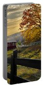 Country Times Portable Battery Charger by Debra and Dave Vanderlaan