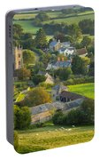 Country Village - England Portable Battery Charger