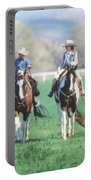 Couple Riding Portable Battery Charger