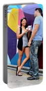 Couple Talking Portable Battery Charger