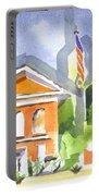 Courthouse Abstractions II Portable Battery Charger