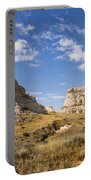 Courthouse And Jail Rocks - Bridgeport Nebraska Portable Battery Charger