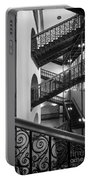 Courthouse Staircases Portable Battery Charger