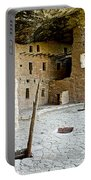 Courtyard Of Spruce Tree House On Chapin Mesa In Mesa Verde National Park-colorado  Portable Battery Charger