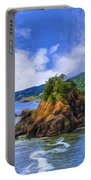 Cove On The Oregon Coast Portable Battery Charger