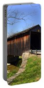 Jediha Hill Covered Bridge In Mt. Healthy Portable Battery Charger