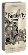 Cover Of The Butterfly Magazine Portable Battery Charger