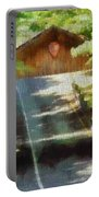 Covered Bridge In Sleeping Bear Dunes National Lakeshore Portable Battery Charger