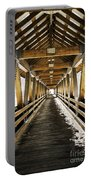 Covered Bridge Littleton New Hampshire Portable Battery Charger