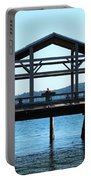 Covered Pier At Port Townsend Portable Battery Charger