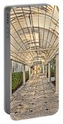 Covered Walkway Portable Battery Charger