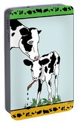 Cow Artist Cow Art II Portable Battery Charger