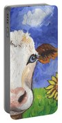 Cow Fantasy One Portable Battery Charger