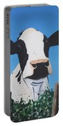 Cow On A Ditch Portable Battery Charger