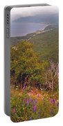 Cow Vetch In Cape Breton Highlands Np-ns Portable Battery Charger