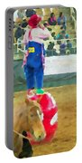 Cowboy And The Clown Portable Battery Charger