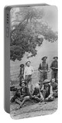 Cowboy Camp, C1890 Portable Battery Charger