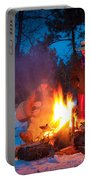 Cowboy Campfire Portable Battery Charger