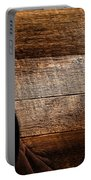 Cowboy Gear On Wood Portable Battery Charger