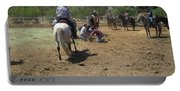 Cowboys At The Branding Portable Battery Charger