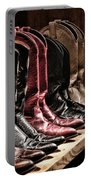 Cowgirl Boots Collection Portable Battery Charger