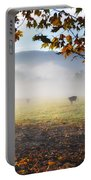 Cows In The Fog Portable Battery Charger