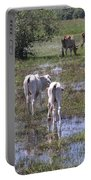 Cows In The Pantanal Portable Battery Charger
