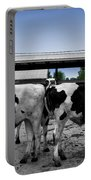 Cows Peek A Boo Portable Battery Charger