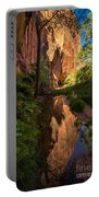 Coyote Gulch Canyon Reflection - Utah Portable Battery Charger
