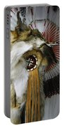 Coyote Headdress 1 Portable Battery Charger