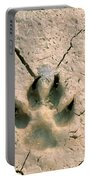 Coyote Print Portable Battery Charger