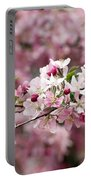 Crab Apple Blossom Portable Battery Charger