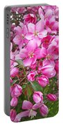 Crab Apple Blossoms Portable Battery Charger